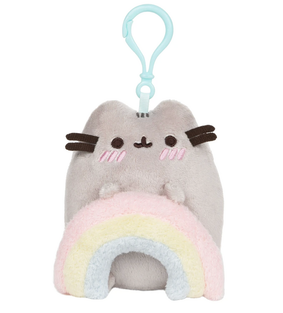 Pusheen Rainbow Backpack Clip 5