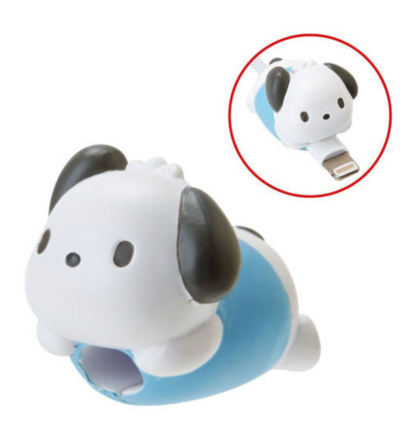 Pochacco Cable Bite Protector/ Holder for iphone by Sanrio