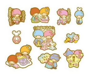 Little Twin Stars Sticker Pack by Sanrio