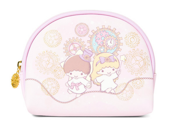 Little Twin Star Pouch / Comestic bag with Zipper by Sanrio