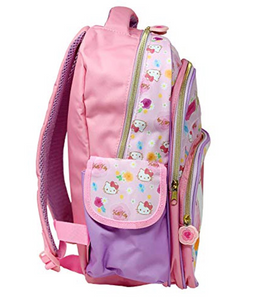 "Hello Kitty Backpack Flower 14"" by Sanrio"