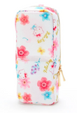 Hello Kitty Flowers Tatemo Pencil Case/ Pen / Cosmetic Pouch by Sanrio
