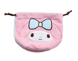 My Melody Drawstring Bag/ Pink by Sanrio