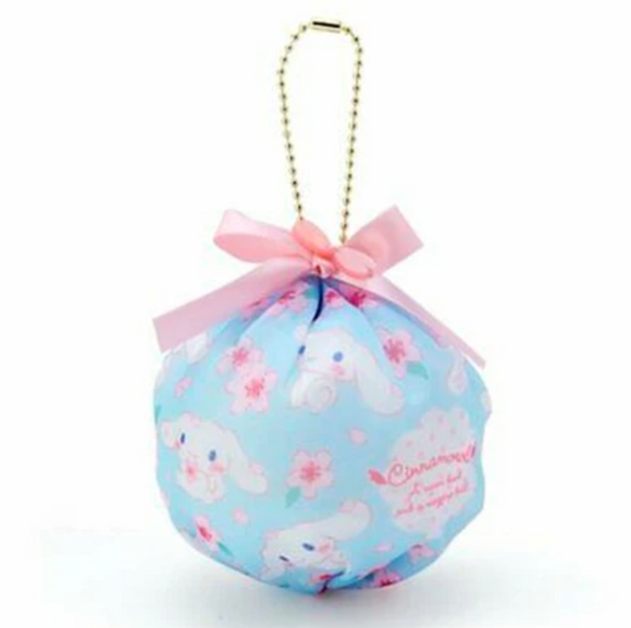 Cinnamoroll Sakura Mini Pouch Keychain with Zipper by Sanrio