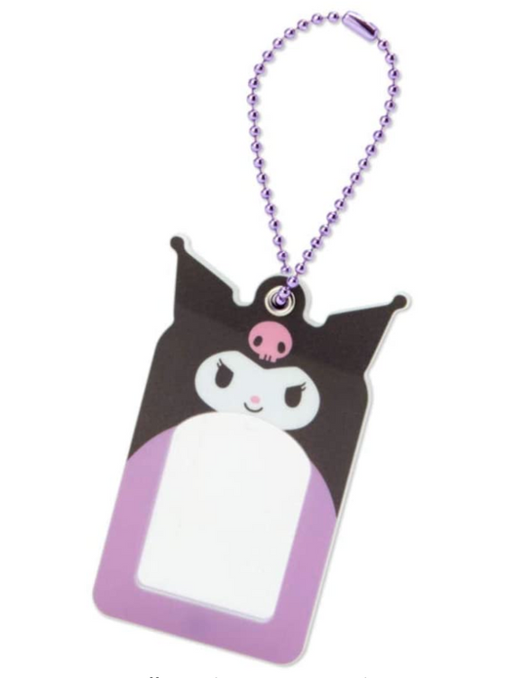 Kuromi Photo Frame/ Holder Keychain by Sanrio