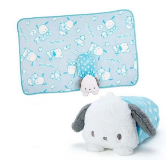 Pochacco Blanket And Case Collection: Plush Friend by Sanrio