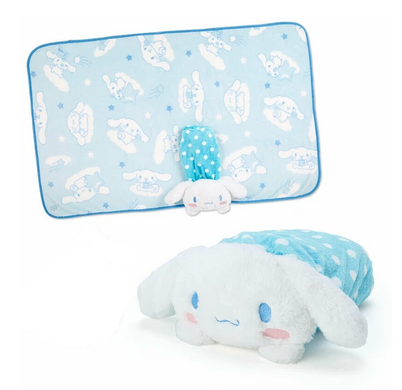 Cinnamoroll Blanket And Case Collection: Plush Friend by Sanrio