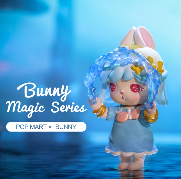 1 Bunny Magic Blind Box Series by POP MART + 1 Kawaii Sticker