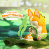Coogi and Foody - Coogi's Vagrant Life Blind Box Series by POP MART+ 1 Kawaii Sticker