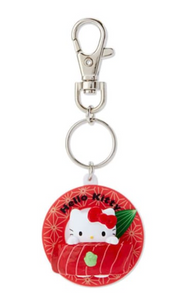 Hello Kitty Sushi Keychain with Plate by Sanrio