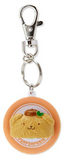 Pompompurin Sushi Keychain with Plate by Sanrio