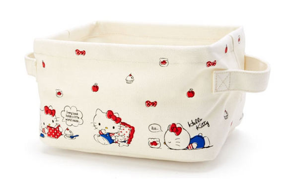 Hello Kitty Soft Foldable Storage Box / Basket by Sanrio