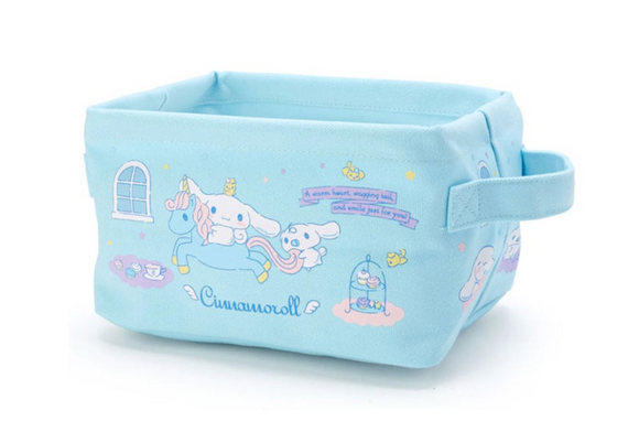 Cinnamoroll Soft Foldable Storage Box / Basket by Sanrio