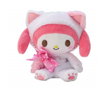 My Melody Maneki Neko Plush by Sanrio