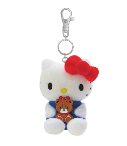 Hello Kitty Mascot Keychain/ Bag Charm /Friend series by Sanrio