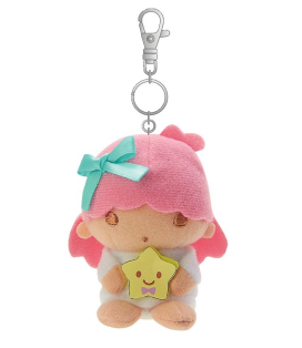 Little Twin Stars/ LaLa Mascot Keychain/ Bag Charm /Friend series by Sanrio