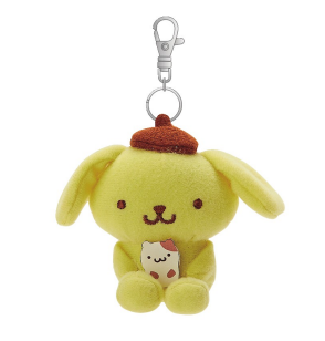 Pompompurin Mascot Keychain/ Bag Charm /Friend series by Sanrio