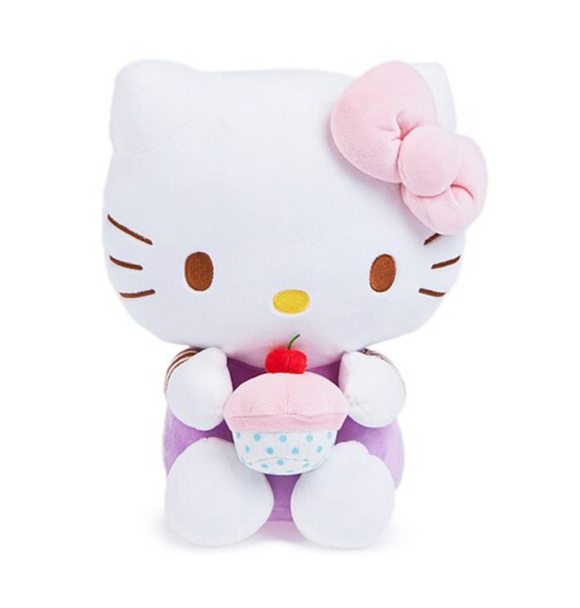 Hello Kitty Cupcake Plush by Sanrio Sanrio