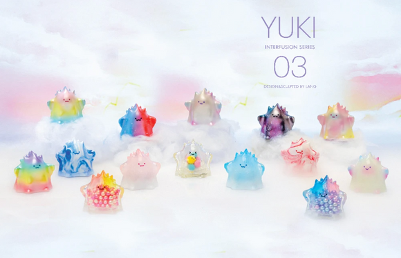 Yuki #3 Sofubi Kaiju Interfusion Series Blind Box Series by Lang x POP MART+ 1 Kawaii Sticker