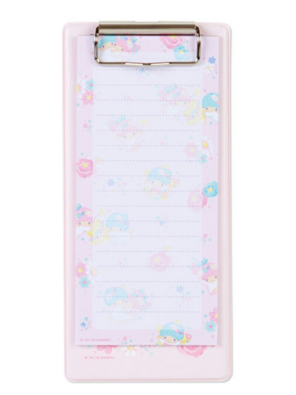 Little Twin Stars Clipboard with Memo Paper by Sanrio