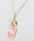 Hello Kitty Necklace /Snow Globe/ by Sanrio