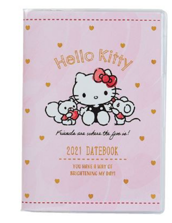Hello Kitty 2021 Datebook B6 by Sanrio