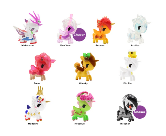 Tokidoki's Unicorno Series 9  Blind Box by Tokidoki