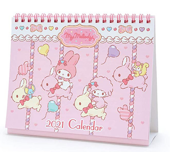 My Melody 2021 Desk Calendar by Sanrio