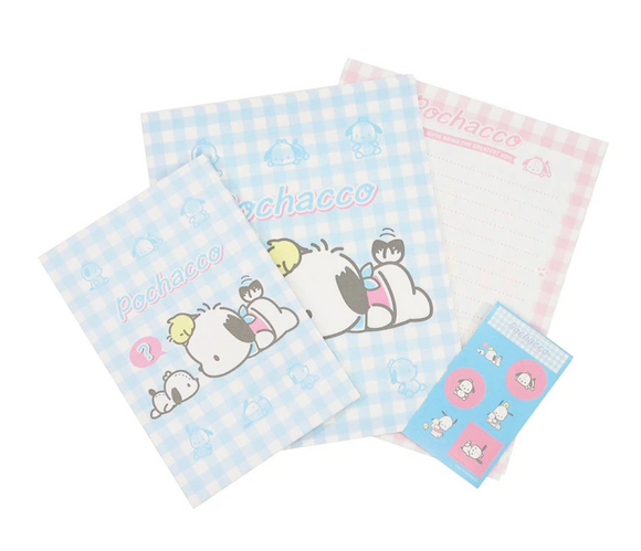 Pochacco Letter Set with Stickers by Sanrio