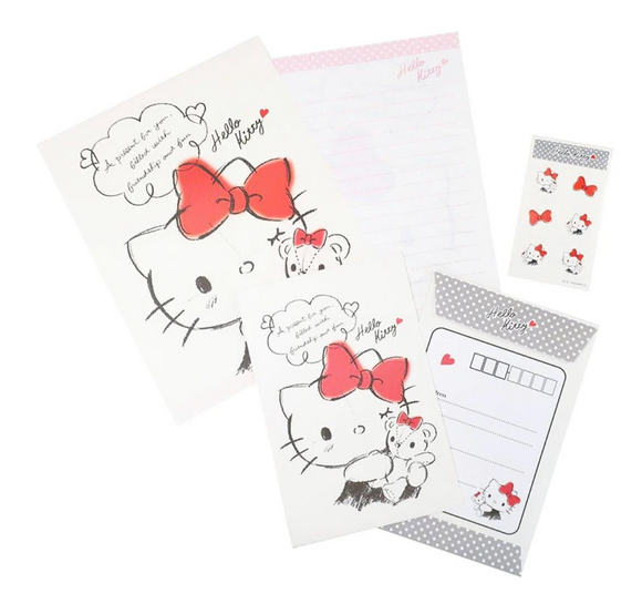 Hello Kitty Letter Set with Stickers by Sanrio