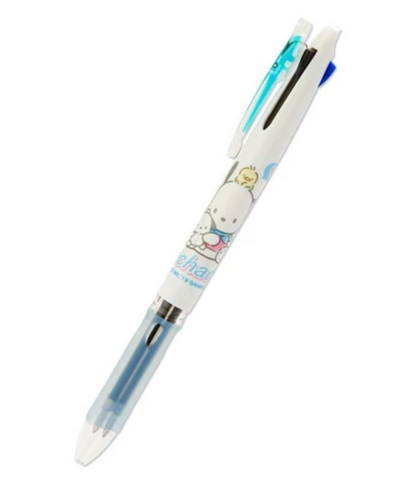 Pochacco Clip On Style 3 Color Ball Pen by Sanrio