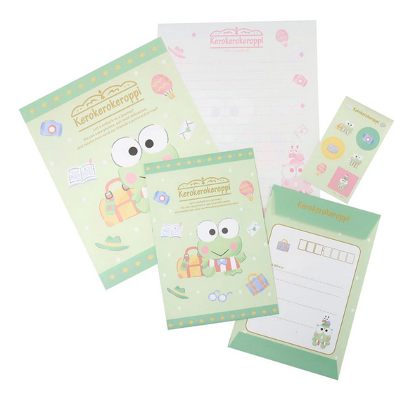 Keroppi Letter Set with Stickers by Sanrio
