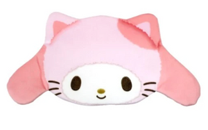 My Melody Happy Cat Collection/ Die Cut Pouch with Zipper by Sanrio