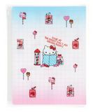 Hello Kitty A4 File With Fastener/ Sweet Fun by Sanrio