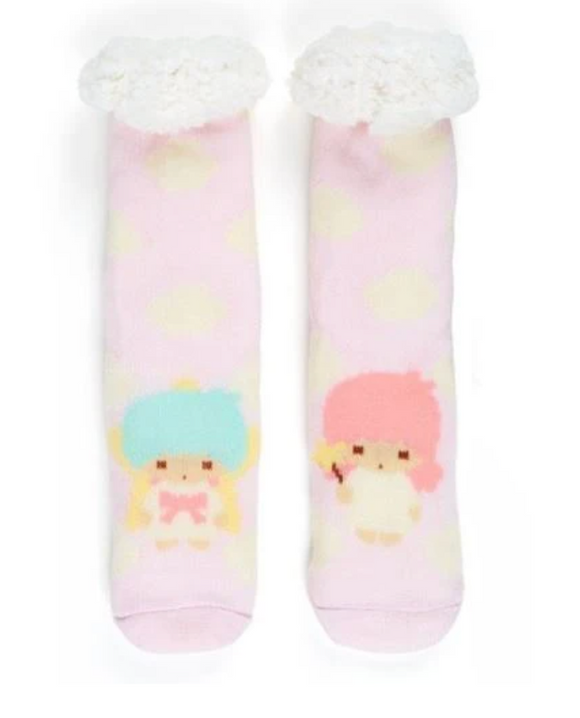Little Twin Stars Boa Socks by Sanrio