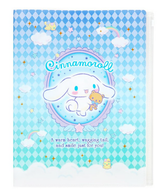 Cinnamoroll A4 File With Fastener by Sanrio