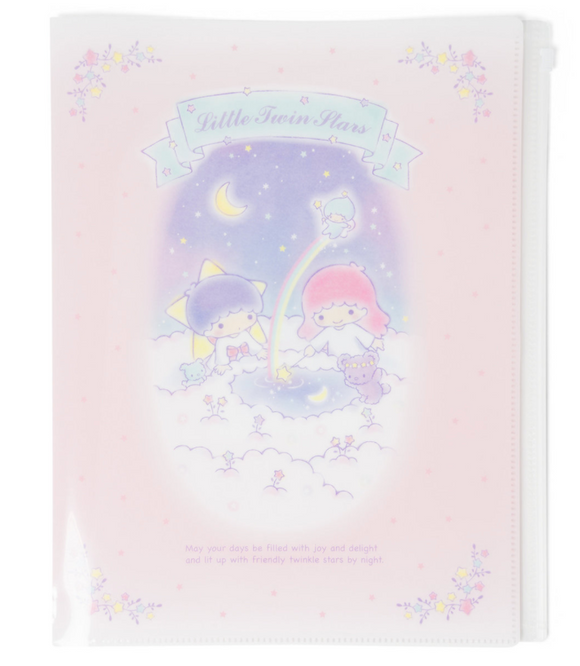 Little Twin Stars A4 File With Fastener by Sanrio