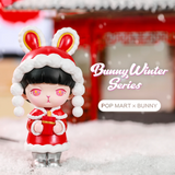 Bunny Winter Blind Box Series by POP MART + 1 Kawaii Sticker
