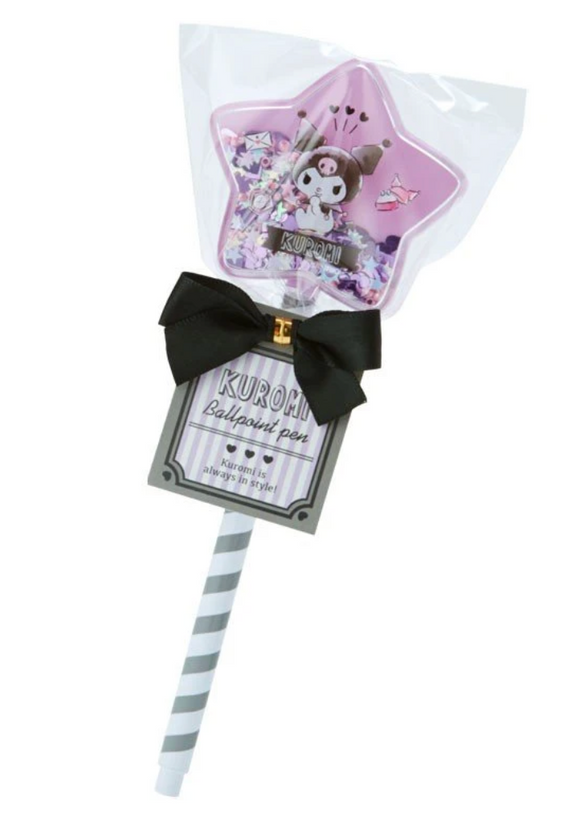 Kuromi Confetti Star Pen Ball Pen by Sanrio