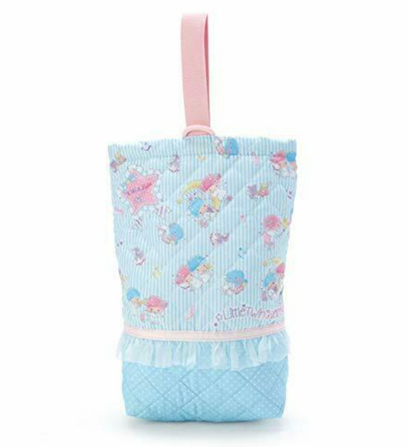Little Twin Stars Shoes/ Carrying Bag Light Blue by Sanrio