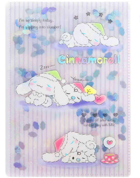 Cinnamoroll File Milk /Confetti by Sanrio