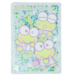 Keroppi File B6 with Confetti by Sanrio
