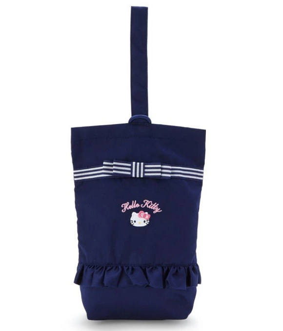 Hello Kitty Shoes/ Carrying Bag Dark Blue by Sanrio