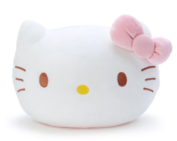 Hello Kitty Round Face Cushion by Sanrio
