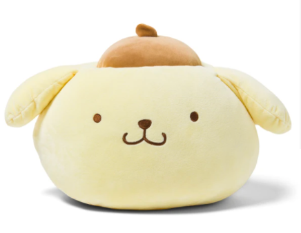 Pompompurin Round Face Cushion by Sanrio