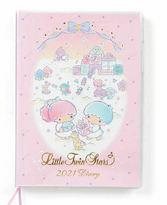 Little Twin Stars 2021 Datebook B6 by Sanrio
