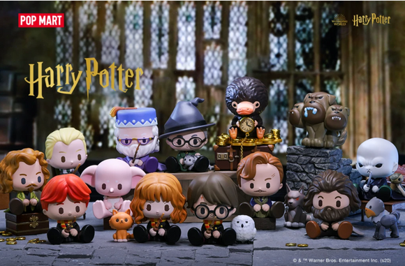 Harry Potter Wizarding World Animal Blind Box Series by POP MART + 1 Kawaii Sticker