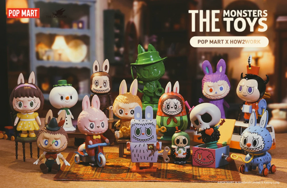The Monsters Toys Series Blind Box by POP MART + 1 Kawaii Sticker