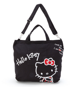 Hello Kitty 2-Way Canvas Tote Bag by Sanrio