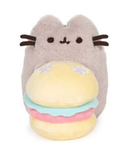 "Pusheen Celebration Burger 6"" by Gund"